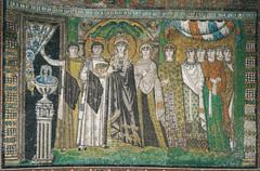 Theodora Mosaic, San Vitale (Early Byzantine)  (Byzantium)