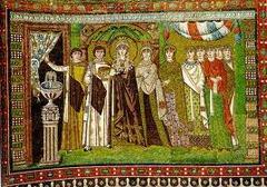 Theodora panel San Vitale....mosaic