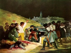 Third of May 1808, Francisco de Goya, 1814-1823, Prado, Madrid,Spanish Romanticism