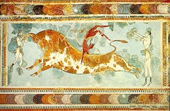 Toreador Fresco, c. 1400 B.C.E., Archaeological Museum,Minoan/Aegean Art