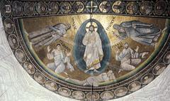 Transfiguration Mosaic, Mt. Sinai (Early Byzantine)  (Byzantium)