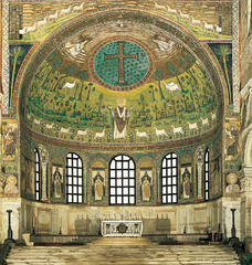 Transfiguration Mosaic, St. Apollinare (Early Byzantine)  (Byzantium)
