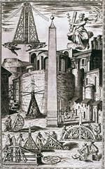 Transportation of the Obelisk by Fontana, 1590