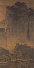 Travelers Among Mountains and Streams (FAN KUAN) (Song)  (China)