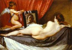 Velazquez: Venus at her Mirror