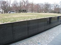 Vietnam Veterans Memorial. Washington, DC Maya Lin 1982 granite