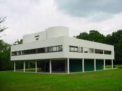 Villa Savoye. Poissy-sur-Seine, France. Le Corbusier. 1929. Steel and reinforced concrete