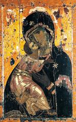 Virgin of Vladimir icon (Middle Byzantine)  (Byzantium)