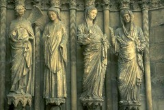 Visitation,Reims Cathedral,1230,Gothic Art