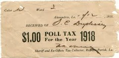 What was the purpose of the poll tax?