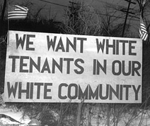 Which best describes de jure segregation?