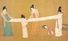 Women Combing Silk