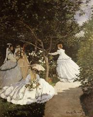 Women in the Garden by Claude Monet, 1867
